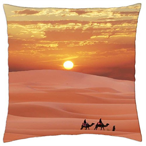 Carabana desierto–Funda de almohada manta (18
