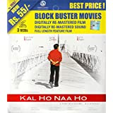 Kal Ho Naa Ho Hindi Movie 3 Disc VCD Digitally Re-Mastered Film and Sound