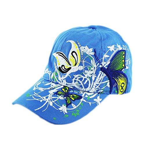 vovotrade Bordado Gorra de béisbol Lady Fashion Shopping ciclismo duck lengua sombrero anti - Sai Cap (azul)