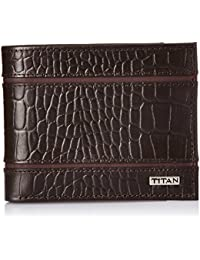 Titan Brown Men's Wallet (TW169L)