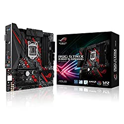 Asus Rog Strix B360-g Gaming Mainboard Sockel 1151 (Matx, Intel B360, Ddr4 Speicher, Duales M.2, Hdmi, Dvi, 6gbits Sata, Usb 3.1, Aura Sync)