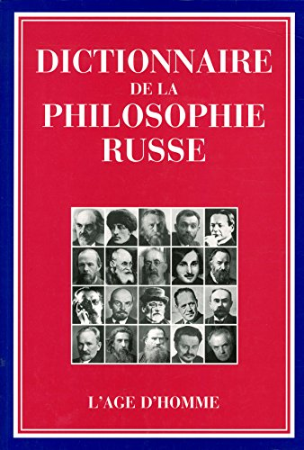 Dictionnaire de la philosophie russe par Mikhaïl Masline
