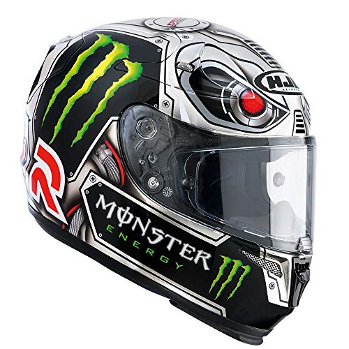 Hjc Rpha 10 FULL FACE Casco da moto Plus Lorenzo Speed Machine Replica M (57-58cm)