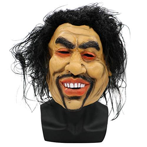 Latex-Halloween-Kostüm-Maske Lustige Bettler-Maske Für Decortation