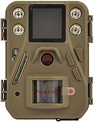 'Scout Guard sg52012MP 1080P HD Caméra de chasse à 40° Largeur Vision infr Lanzarote 14m Vision nocturne LCD 1,44Caméra de chasse chasse Avion Caméra