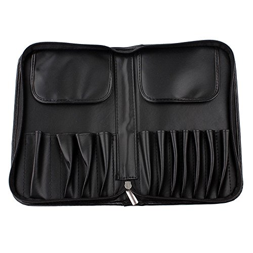 Watopi Maquillage Organisateur Sac Avec Compartiments Cosmetic Brush Holder Noir