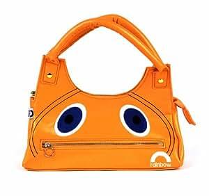 Rainbow Zippy Face Handbag