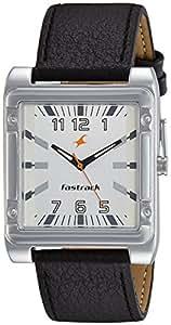 Fastrack Economy Analog White Dial Men's Watch -NK3040SL01