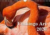 Flamingo Art 2020 (Wandkalender 2020 DIN A4 quer): Flamingo Art - Ein absoluter Blickfang im Büro und zu Hause (Monatskalender, 14 Seiten ) (CALVENDO Tiere) - Max Steinwald