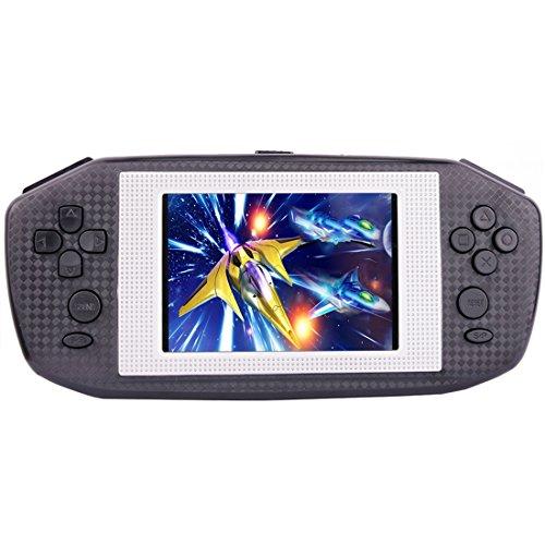 """ZHISHAN Tragbar Handheld Spielkonsole Gaming Spieler Geburtstag Geschenk zum Kinder Eingebaut 416 Klassisch Retro Video Spiele mit 3.5"""" LCD Bildschirm"""