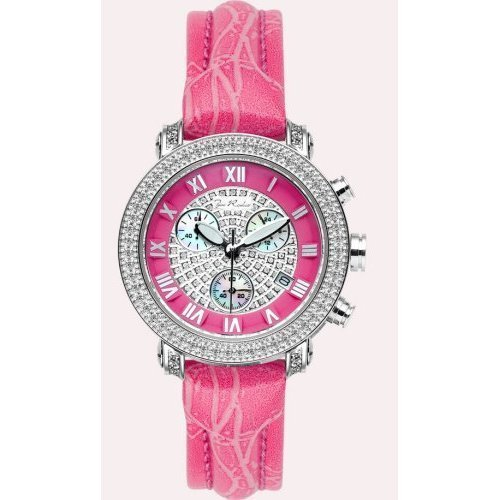 Joe Rodeo Womans Diamond Watch 0.60ct Passion Pink