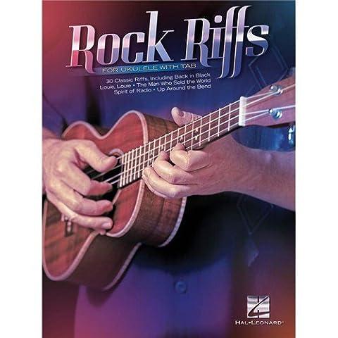 Rock Riffs For Ukulele With Tab - Sheet Music