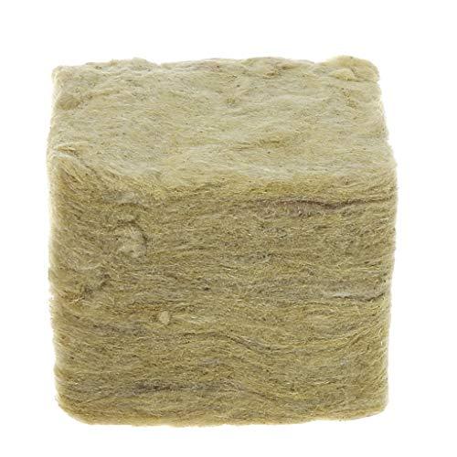 CADANIA Rockwool Cubes Hydroponic Cultiver des Milieux sans Sol Culture Planter Compresse Base