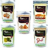 Online Quality Store Multani Mitti 200 Gm Chandan Powder 50 Gm Orange Peel Powder 50 Gm Neem Powder 50 Gm And Rose Powder 50 Gm