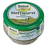Ökoland Mettwurst gekocht, 6er Pack (6 x 160 g)