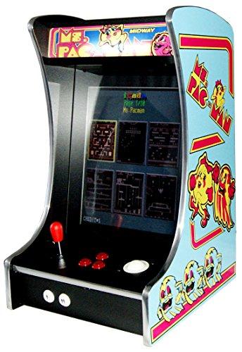 US-Way e.K. G-288 Ms. Pac-Man Arcade Video Machine - Macchina da Gioco, per Cabinet e Auto, 412 Giochi