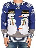 Hässlicher Weihnachtspullover Frosty, der Nasendieb