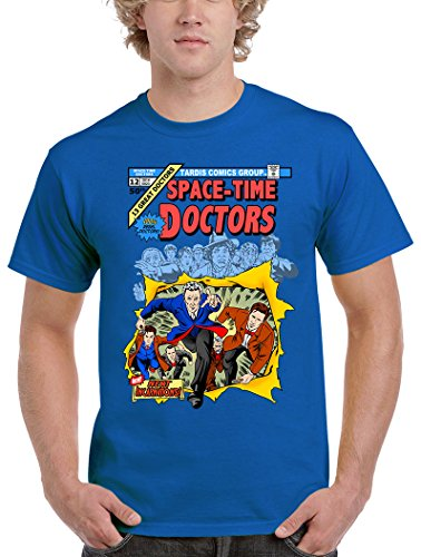 Camisetas La Colmena Herren T-Shirt Blau blau Blau