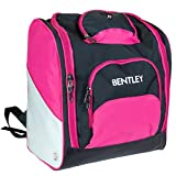 517XdVKItvL. SL160  - Charles Bentley Women's Deluxe Ski Boot Bag Rucksack Backpack Winter Sports Holdall - Pink sports best price Review uk