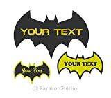 toutes les tailles sur mesure–brodée Batman Forever Dark Knight Sew on Patch 6 inch