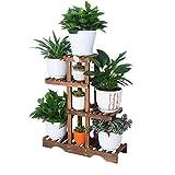 NNIU- Flower Stand in legno Flower Shelf Flower Flower...
