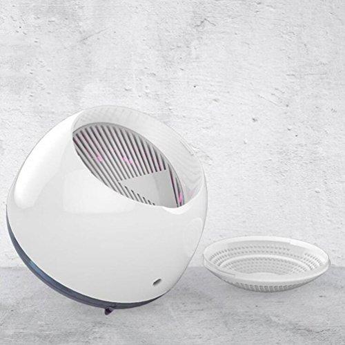 L@CR Mushroom Photokatalysator Silent Inhalation Moskito-Killer, UV-Strahlung Frei Moskito-Mörder-Lampe