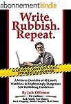 Write Rubbish Repeat - A Writers Chec...