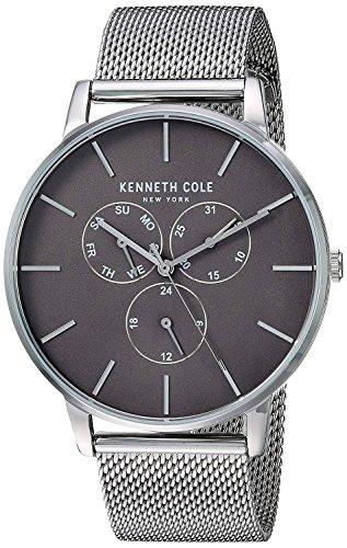 Kenneth Cole Orologio Analogico Quarzo Uomo con Cinturino in Acciaio Inox KC50008004