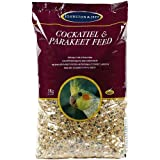 Johnston & Jeff Cockatiel & Big Parakeet Seed 3Kg