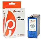 Bubprint Druckerpatrone kompatibel für Lexmark 24 XL 24XL 18C1524E für X3530 X3550 X4530 X4550 X 4550 Business Edition Z1410 Z1420 Z1450 Color/Farbe