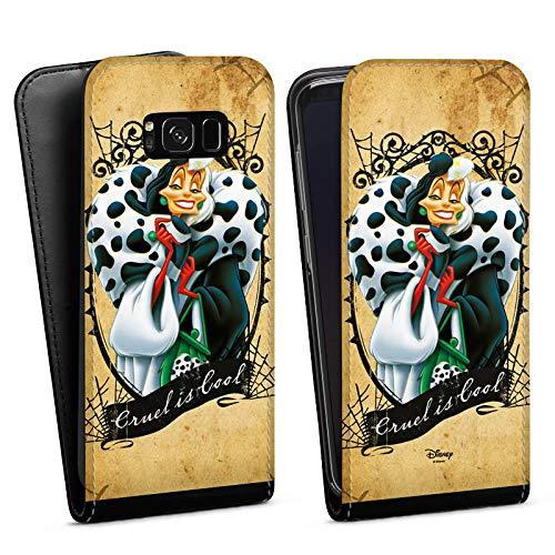 mit Samsung Galaxy S8 Tasche Hülle Disney 101 Dalmatiner Cruella De Vil Geschenk Merchandise ()