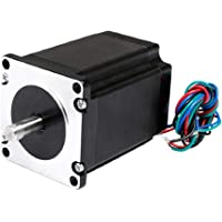 novo3d.in stepper motor high efficient Nema 23 11.6/34 Kg cm motor with/without wire connector for 3d printer.