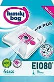 Pratica borsa EIO80-Sacchetti per aspirapolvere in microfibra anti-allergico Filtro motore Kaisui 870-873 EIO Vinto