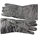 YONG Guantes ignífugos de aluminio resistentes a altas temperaturas de fundición y asar a fuego radiación calor abrasión