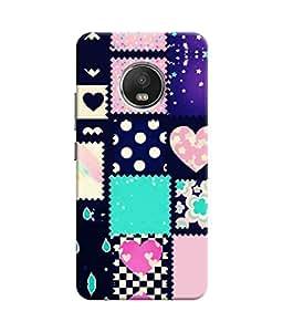 Sketchfab Heart Design Like Windo Latest Design High Quality Printed Designer Back Case Cover For Motorola Moto G5 Plus