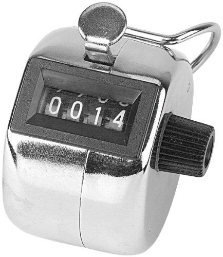 Preisvergleich Produktbild infactory Handzählgerät: Handzähler aus Metall (Einhandzähler)