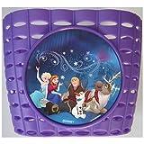 Kubbinga Disney Frozen - Cesta para Bicicleta (plástico), Color Morado