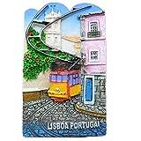 Lissabon Portuguesa Souvenir 3D Kühlschrank Magnet, Home & Kitchen Decor Kühlschrank Magnet Craft
