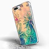 Inonler Heißer Sommer Beach Resort farbe kokospalmen hülle für iphone 6S (4,7