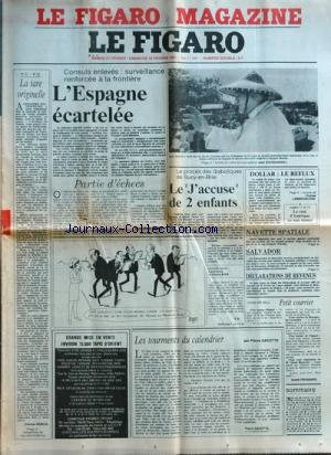FIGARO (LE) [No 11343] du 21/02/1981 - consuls enleves, surveillance