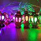 TECHNO E-TAIL Lantern LED String Lights For Diwali Christmas Decoration