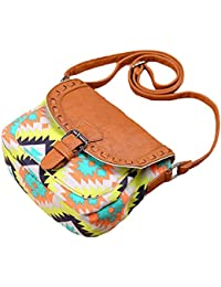 c7337220fe Amoyie - Borsa a tracolla in tela e pelle borse per donna ragazza, borsa  messenger piccola con Zip Tasche per…