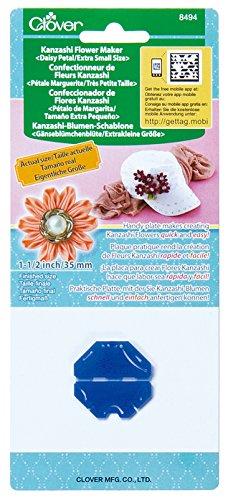 Clover MID(H67,4,10) Kanzashi Blumen Schablone Gänseblümchen, extraklein