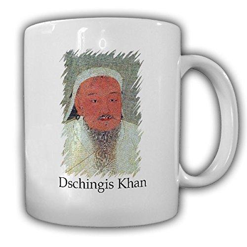 Dschingis Khan Temüdschin Temüüdschin Mongolisch 1155 Mongole Stamm Großkhan Mongolei Antike- Tasse Kaffee Becher #16706 (Antik Mongolische)
