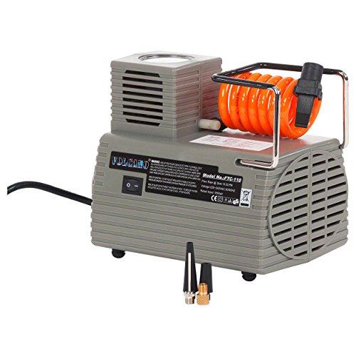 Ballkompressor FTC-110 elektrische Ballpumpe Druckluftpumpe Fußball Kompressor