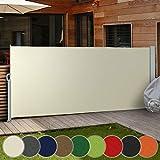 Tenda da Sole Laterale - Diversi Colori e Misure: 160x300cm 180x300cm 200x300cm - Tenda Paravento per Esterno, Protezione da Sole da Giardino, Tendalino per Patio Terrazzo