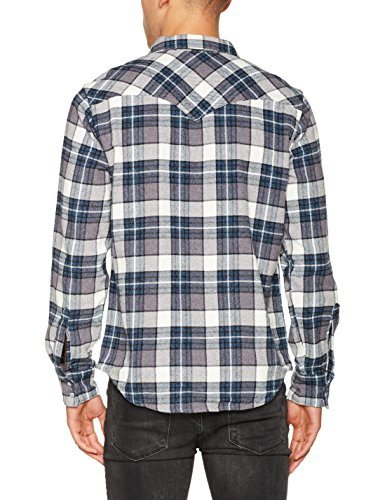 Levi's Herren Freizeithemd Barstow Western Grau (Wintercress Dark Heather Gray 246)