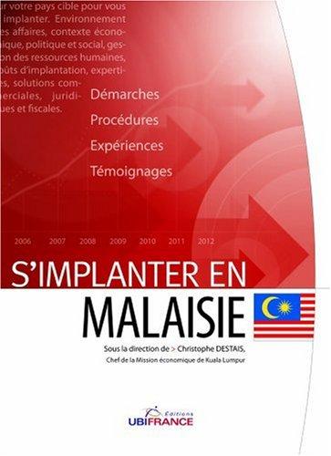 S'implanter en Malaisie