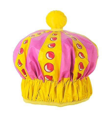 Queen of the Bathroom Bath & Shower Cap / Swim Cap (Queen's Crown)