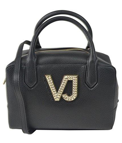 Versace Jeans Ee1vqbbh2_e75426, Sacs portés main femme, Nero, 7x15x23 cm (W x H L)